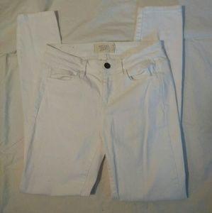 Rachel Roy 27 White Skinny Jeans